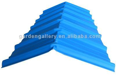 Carbon Fiber UPVC Ridge Tile