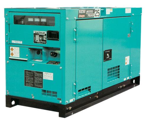 Denyo Soundproof Diesel Generating Sets (Denyo Schallisolierung Dieselaggregate)
