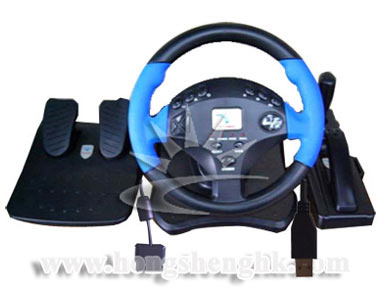Auto Racing Frequencies on Large Racing Wheel For Ps2 Usb   Large Racing Wheel For Ps2 Usb