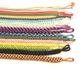 Seidenschnur Halskette (Seidenschnur Halskette)