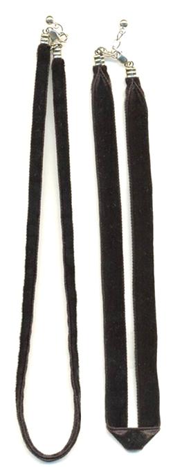 Velvet Ribbon Necklace (Бархотка ожерелье)