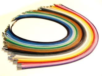 Waxed Cord Necklace (Вощеная шнур ожерелье)