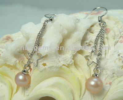 Pearl Earrings (1004) (Perlen Ohrringe (1004))