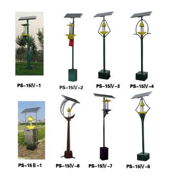 Frequoscillation Pest-Killing Lamp