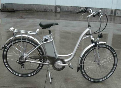 New Electric Bicycle with All Aluminum Alloy Structure