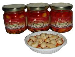 Marinated Garlic with Chili Oil