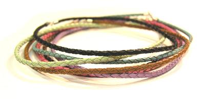 Leder Halskette (Leder Halskette)