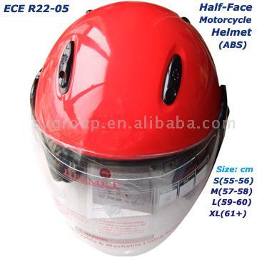 ECE Half Face Motorcycle Helmet (ЕЭК половину лица мотоциклетных шлемов)