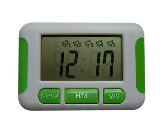 Vibrating and Sound Alarm Clock with Five-Alarm Setting (Вибрационные и звук будильника с пятиступенчатой установки сигнализации)