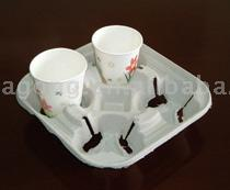 Pulp Molded Cup Carrier
