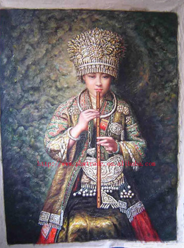 Famous Chinese Oil Paintings on Canvas And Linen
