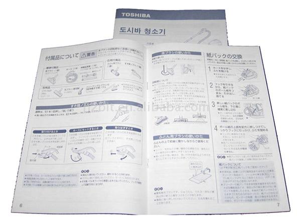Instruction Book Printing
