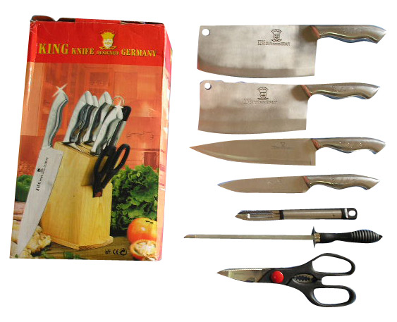 Stock 8pc Knife Set