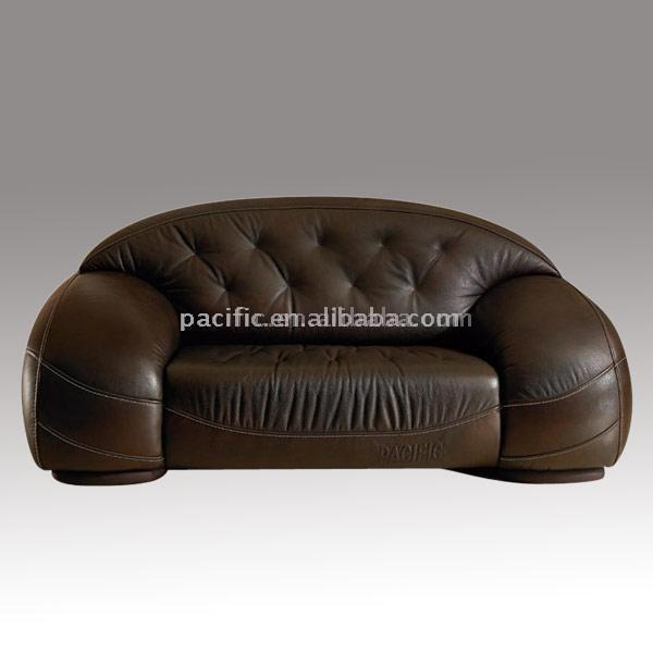 Comfortable Leather Couches classical leather sofa - 8825#