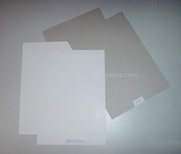 Duplex Paperboard (Двусторонняя картона)