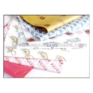 Printed Tissue Paper (Печатное производство оберточной бумаги)