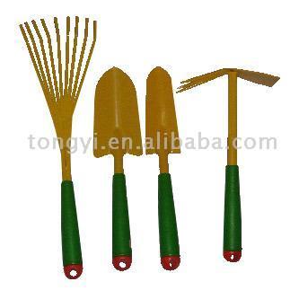 Fünf Stück Garten-Werkzeug-Set (Fünf Stück Garten-Werkzeug-Set)