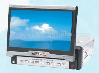 "Automatic In and Out 7"" Installed LCD Display with TV Function"