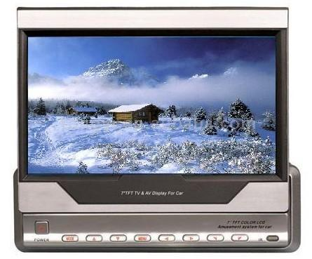 """Auto Automatische In And Out 7 """"LCD-Monitor installiert (Auto Automatische In And Out 7 """"LCD-Monitor installiert)"""