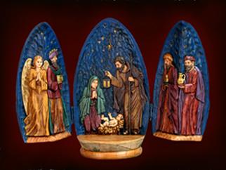 Gift (Oval Egg Nativity ) (Подарочные (Oval Egg Рождества))