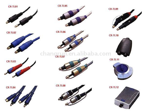 Optical Fiber Cable & Adaptors (Волоконно-оптических кабельных & адаптеры)