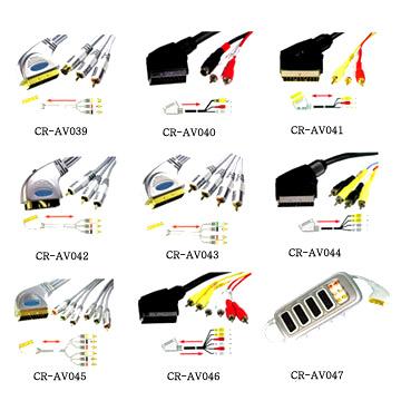 Scart Cable and Scart Adaptor (SCART кабель Scart и Адаптер)
