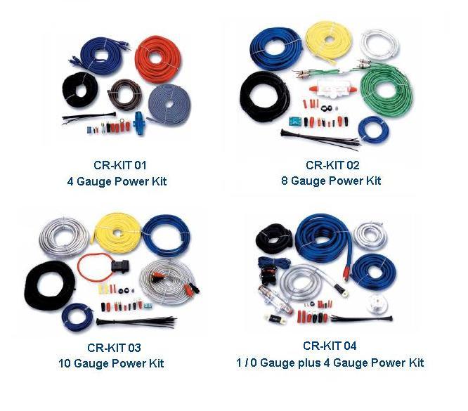 Amplifier Wiring Kit (Усилитель Монтажный комплект)