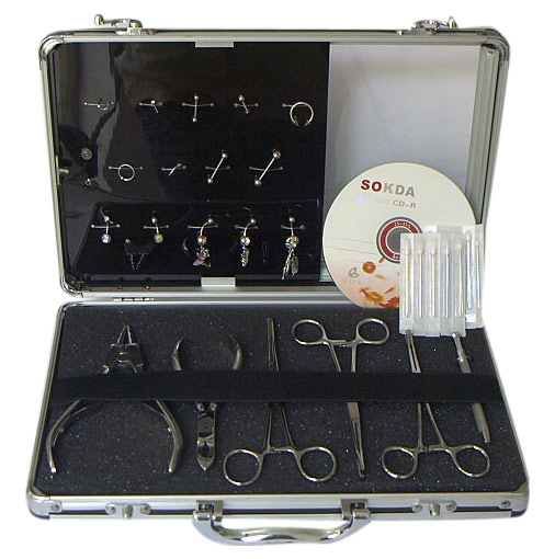 Body Piercing Kit Set (Пирсинг Kit Set)