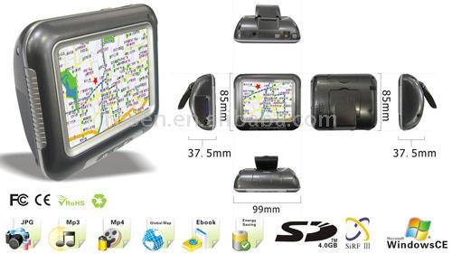 3.5 inch GPS Navigation + PMP (3,5-дюймовый GPS навигация + PMP)