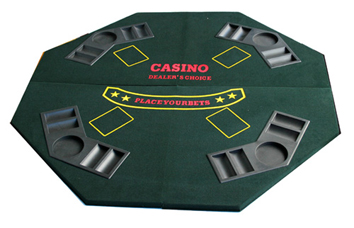 4-Folded Poker Table Top (4-Сложенный Poker Table Top)
