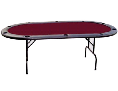 Poker Table With Cup Holder For 10 Persons
