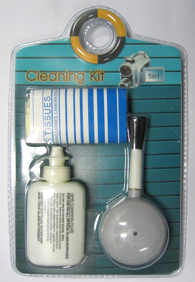 Deluxe Lens and Camera Cleaning Kit
