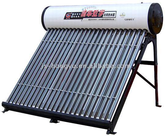 Solar Water Heater (Fires in Wintry Days)