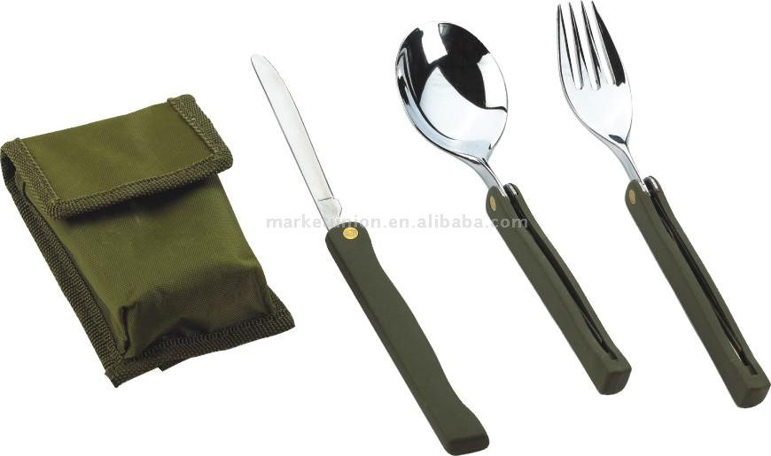 3pc Knife, Fork & Spoon Set (3pc ножи, вилки & Spoon Set)