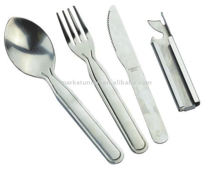 3pc Knife Fork & Spoon Set (3pc нож Fork & Spoon Set)