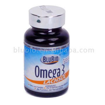Omega 3 Salmon Oil (Oméga 3: Huile de saumon)