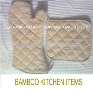 Bamboo Oven Mitt