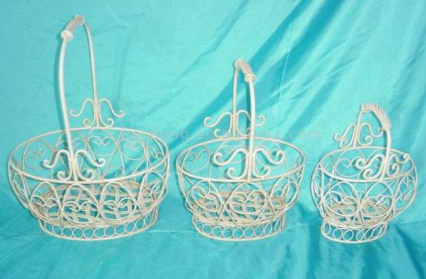 Metal Basket (S/3) (Metal Basket (S / 3))
