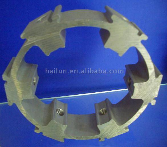 Aluminum Extrusion Profile (Aluminium Extrusion anzeigen)