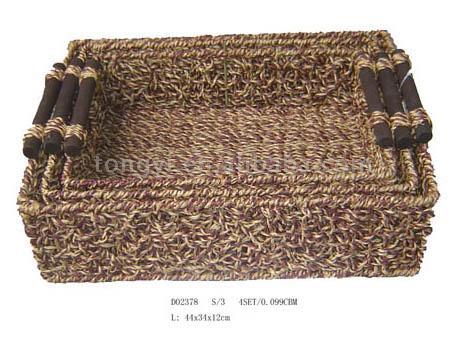 Sea Grass Storage Basket (Морская трава хранения корзины)
