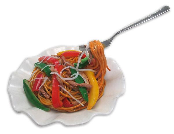 Food Replica (Saute Spaghetti with Beef Shred) (Продовольственная Replica (Сото Спагетти с говядиной Shred))