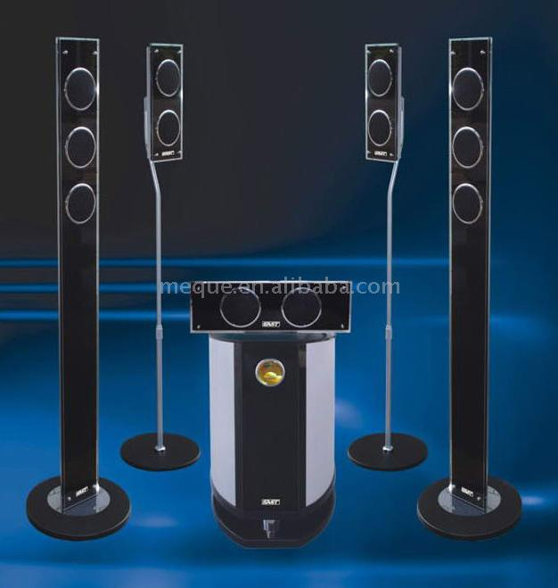 5.1 Channel Home Theater System (5.1-Kanal-Heimkino-System)