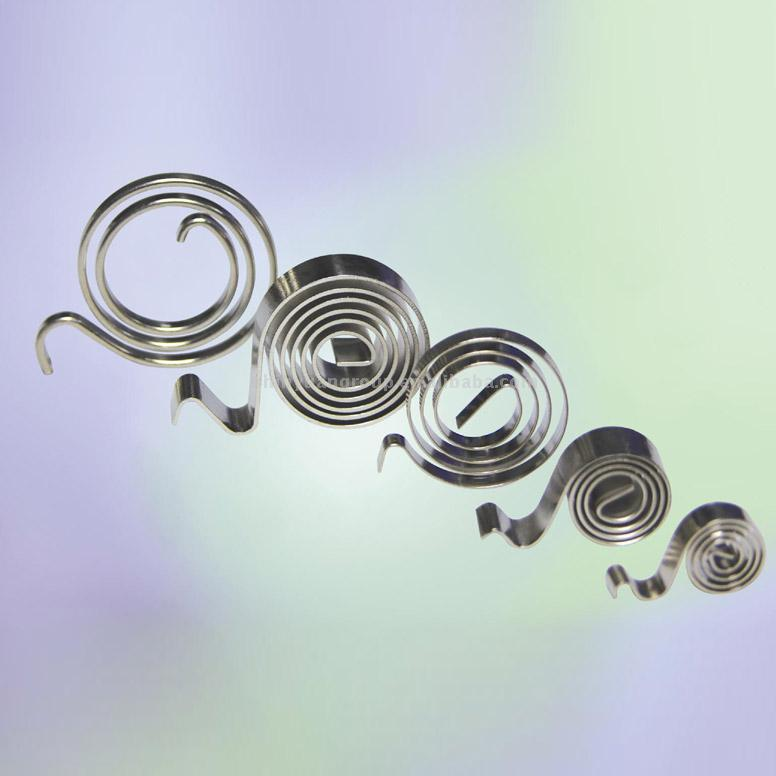 Спиральная пружина.  Features:1 With wire width up to 30mm, flexible...