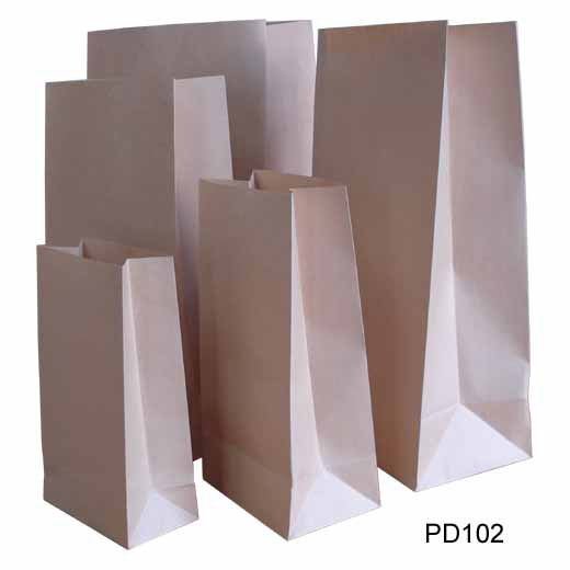 Kraft Paper Grocery Bag (Крафт-бумага Продовольственные сумка)
