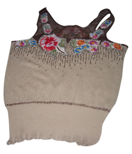Computer Knitted Vest