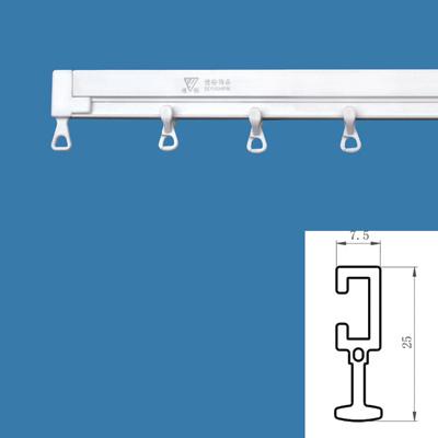 Nano Non-Noise Curved Plastic Curtain Track (Нано Non-шум Изогнутая пластиковые шторы Tr k)