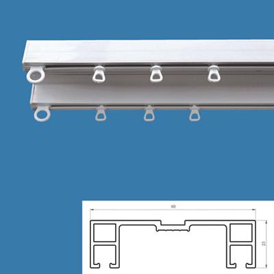 Nano Non-Noise Plastic Curtain Double Track (Нано Non-шум пластиковые шторы Double Tr k)