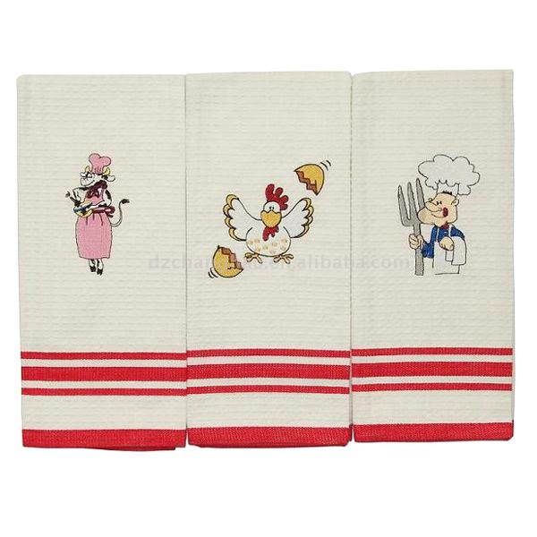 Kitchen Towels On Embroidered Kitchen Towel Embroidered Kitchen Towel Part 60