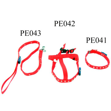 LED Pet Leash, Collar and Harness (Светодиодные Pet поводок, Воротник и Harness)