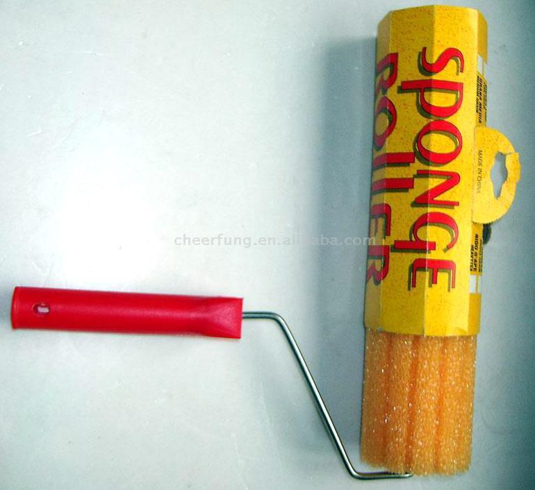 Sponge Paint Roller Brush (Sponge валиком Кисть)